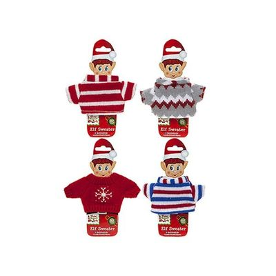 Knitted Sweaters For Elf With Body Shape Insert Card