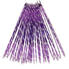 Purple Diamond Cut Aluminium Wire