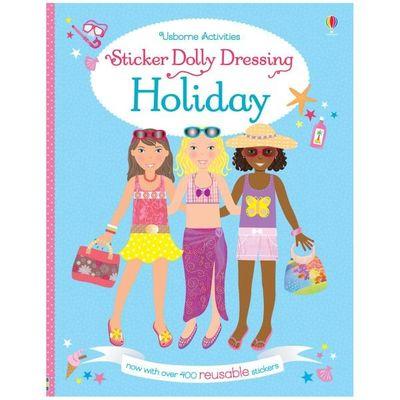 Sticker Dolly Dressing Holida*
