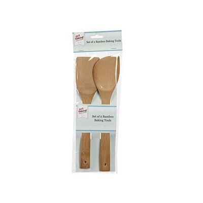 Get Baking Set Of 2 Bamboo Baking Tools With Header Card