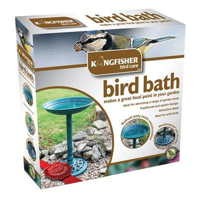 Traditional Bird Bath