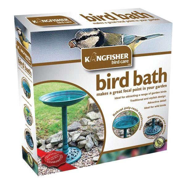 Traditional Bird Bath