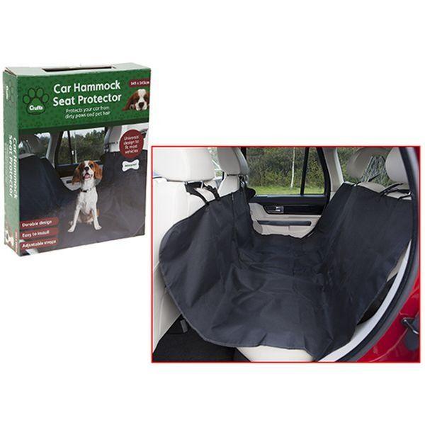 Crufts Waterproof Car Hammock  Seat Protector In Colour Box