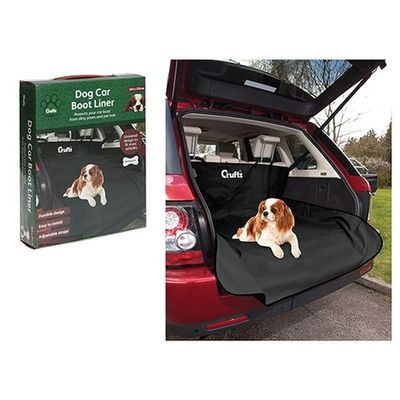 Crufts Pet Car Boot Liner In Colour Box
