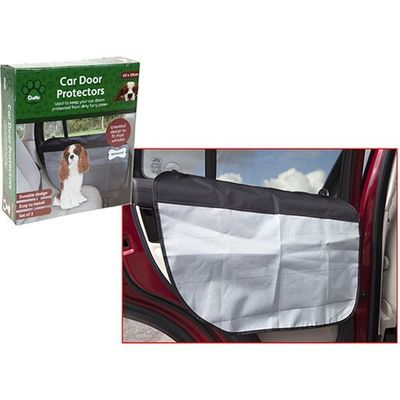 Crufts Set Of 2 Car Door  Protectors In Colour Box