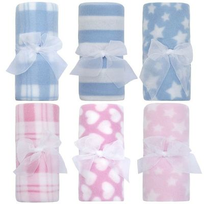 Babies Rolled Polar Blankets  By Baby Town. 6 Designs