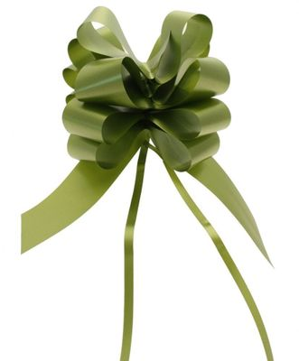 Moss Green Pull Bow