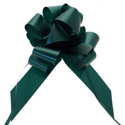 Hunter Green Pull Bow