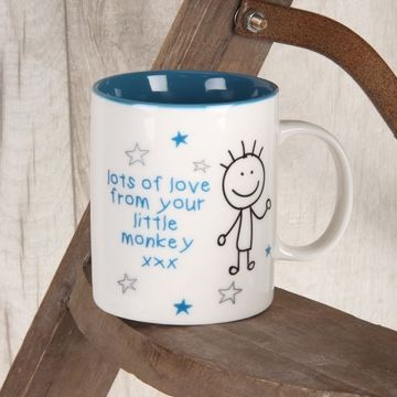 Celebration Gift - Worlds Best Daddy....monkey  by Juliana