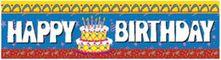 Happy Birthday Cake Banner