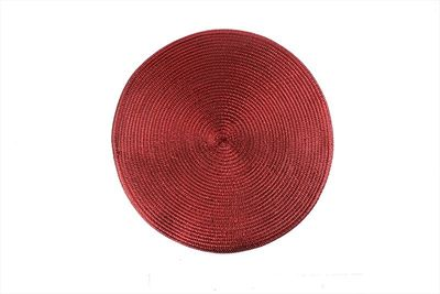 Red Metallic Placemat