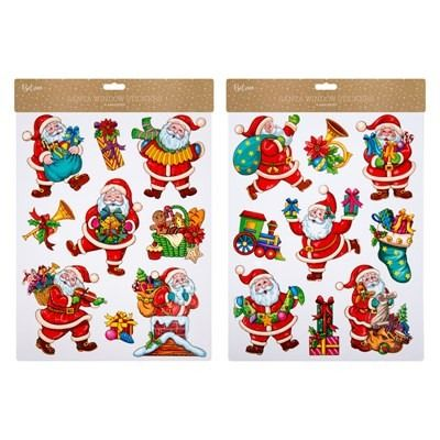Christmas Window Stickers - Santa