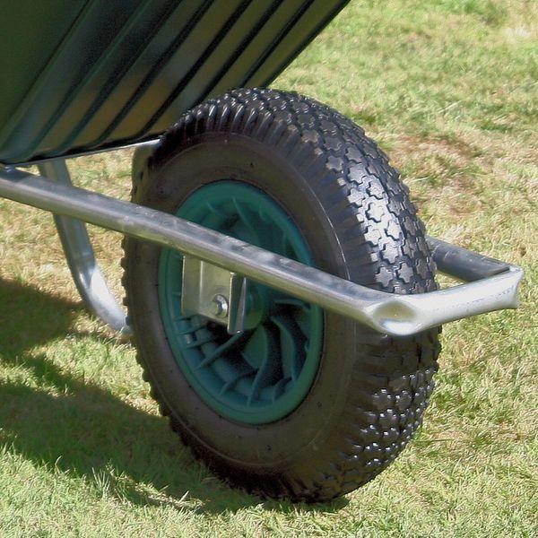 Green Clipper Wheelbarrow Wheels