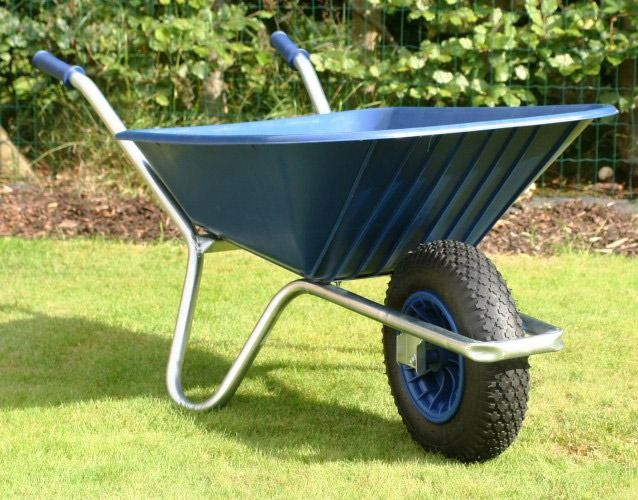 Blue Clipper Wheelbarrow