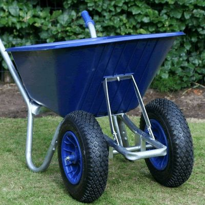 Blue Duo Cruiser Wheelbarrow