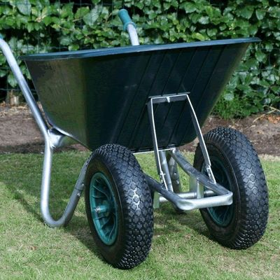 Green Duo Cruiser Wheelbarrow