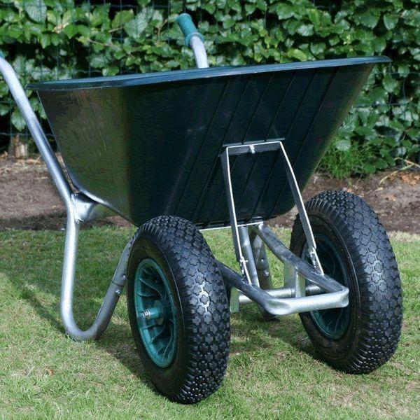 Green Duo Cruiser Wheelbarrow