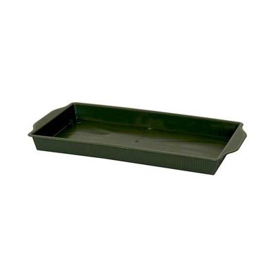 Green Plastic Floral Tray