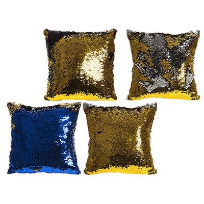 30cm 2 Tone Magic  Changing Sequin Cushion With Hanging Tag