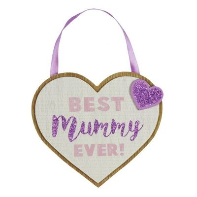 Lasting Memories - Mdf Heart Plaque Mummy