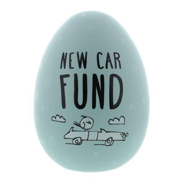 Eggcellent Large Nest Egg Blue - New Car Fund