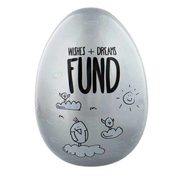 Eggcellent Large Nest Egg - Wishes And Dreams Fund