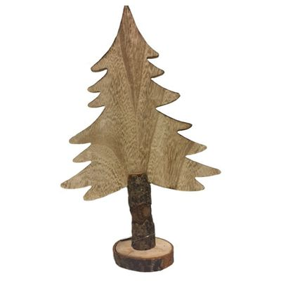 Wooden Blank Christmas Tree 37.5cm ideal for personalising