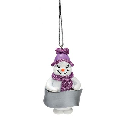 Snowgirl Blank Decoration ideal for personalisation