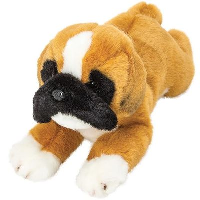 Yomiko  Boxer Puppy Dog Plush 13 inch Medium
