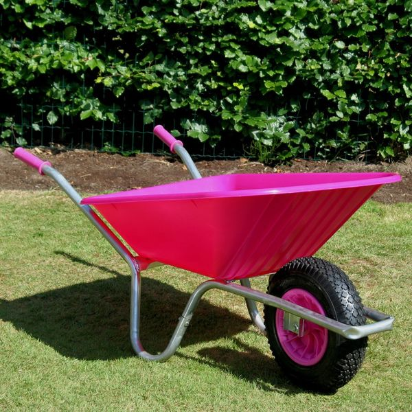Pink Clipper Wheelbarrow