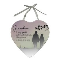 Reflections Of The Heart Mirror Plaque Grandma