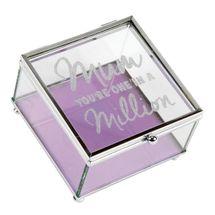 Lasting Memories - Glass Trinket Box - Mum In A Million