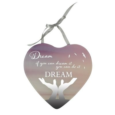 Reflections Of The Heart Mirror Plaque - Dream
