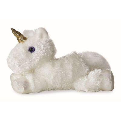 Mini Flopsie - White Unicorn 8inch