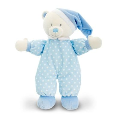 25cm Baby Goodnight Bear 2  Assorted By Keel Toys