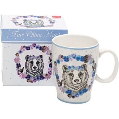 Drawn To Nature Bear Mug By Suki Gifts