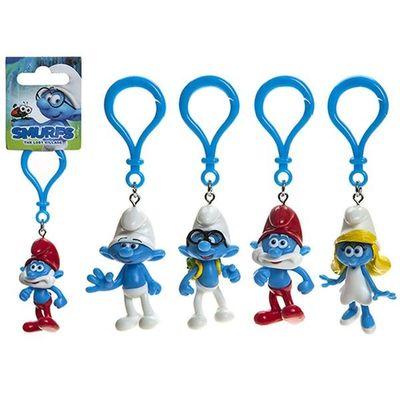 Smurfs Character Clip-on With  Header 4 Assorted