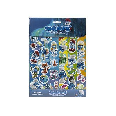 Smurfs 5 Sheet Sticker Pack