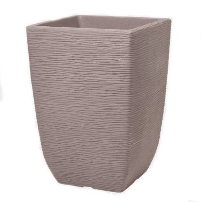 Dark Brown Cotswold Planter 33cm Tall