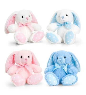 15cm Baby Spotty Rabbit Pink or Blue
