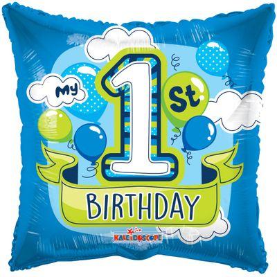 1st Birthday Boy Balloon