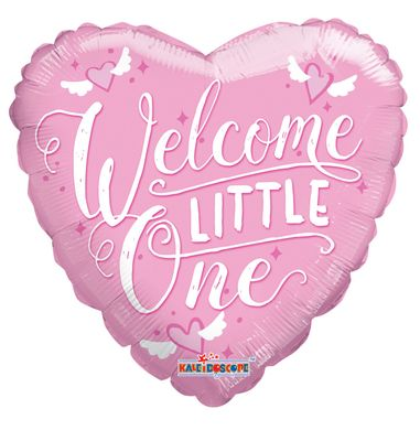 Pink Welcome Little One Balloon
