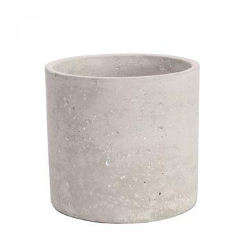 Round Cement Flower Pot 12.5cm