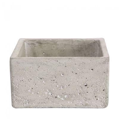 Square Cement Flower Pot 8cm