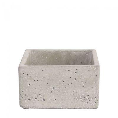 Square Cement Flower Pot 7cm