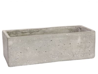 Trough Cement Flower Pot 9cm