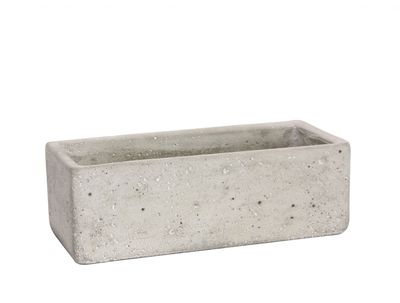 Trough Cement Flower Pot 7.5cm