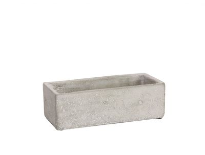 Trough Cement Flower Pot 6cm