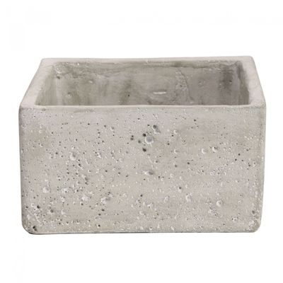 Square Cement Flower Pot 9cm