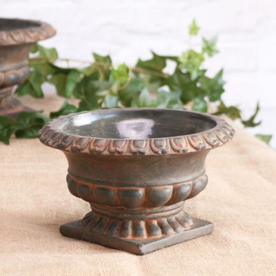 French Urn Cement Pot 12cm